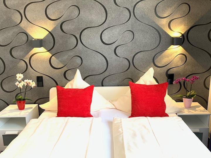 Hotel B54 Heidelberg - Doppelzimmer