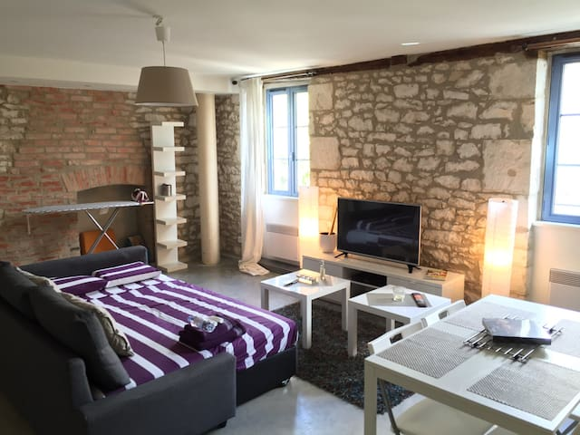 Appartement spacieux  de 60 m2 - Souillac - Apartamento