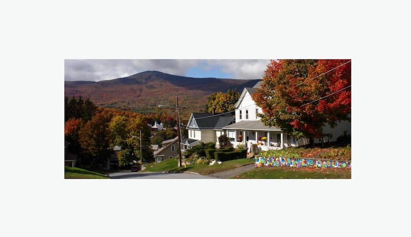 Cozy duplex with Mt. Greylock views - Adams - Apartmen