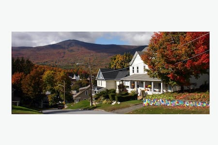Cozy duplex with Mt. Greylock views - Adams - Apartamento
