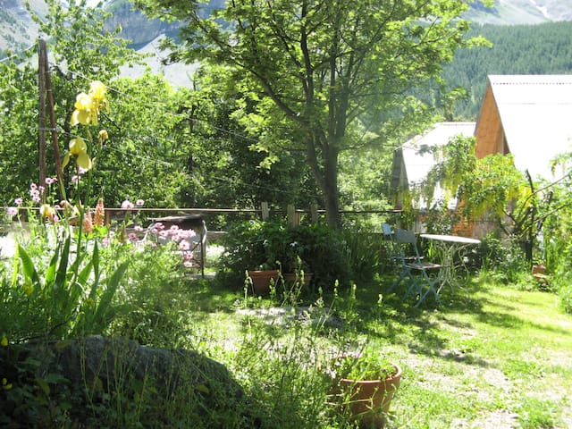 la Passerelle - Entraunes - บ้าน
