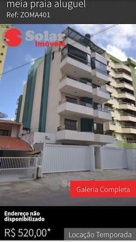 Conforto de sua casa por 150,00 diaria - Itapema - อพาร์ทเมนท์