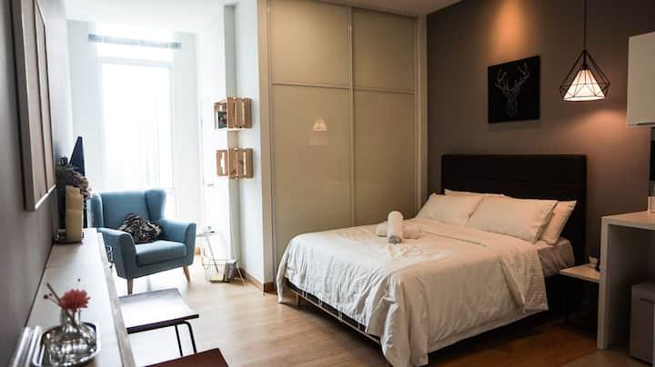 Cozy Suite ( 2 pax )@ Changkat Bukit Bintang章卡武吉免登