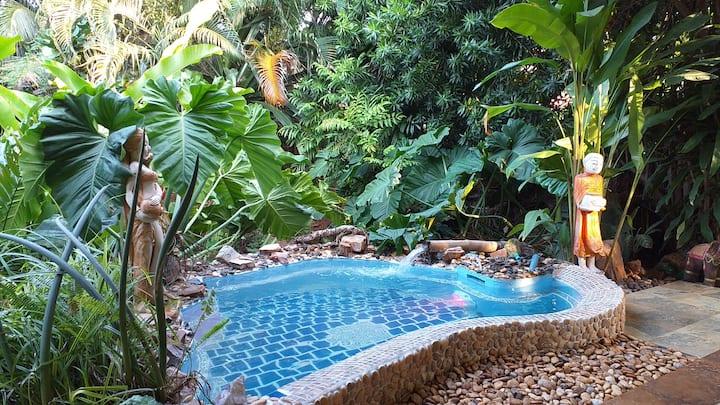 Laguna Malee Garden, kl. Pool, privater Garten