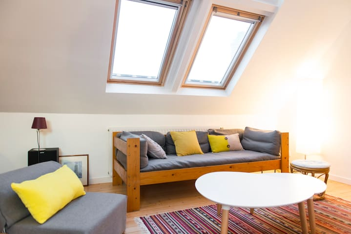 Rent floor of flat downtown Nantes - Nantes - Apartamento