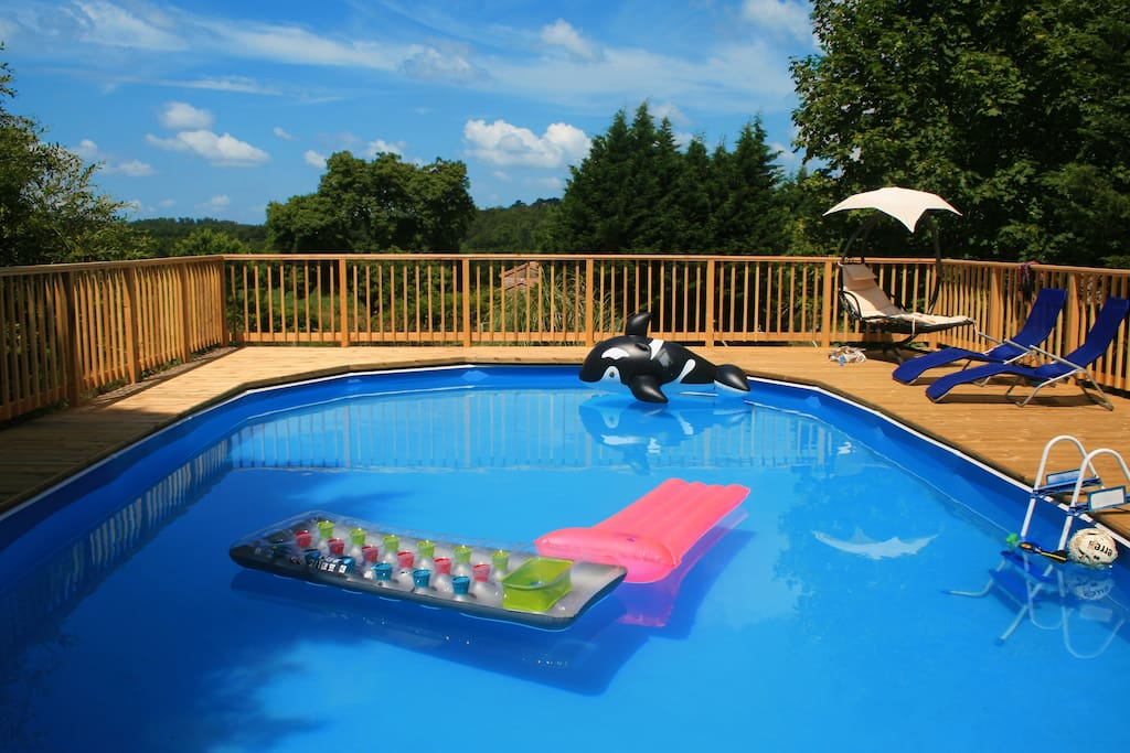 Family Holiday Gite With Swimming Pool Houses For Rent In Saint Vallier Poitou Charentes France