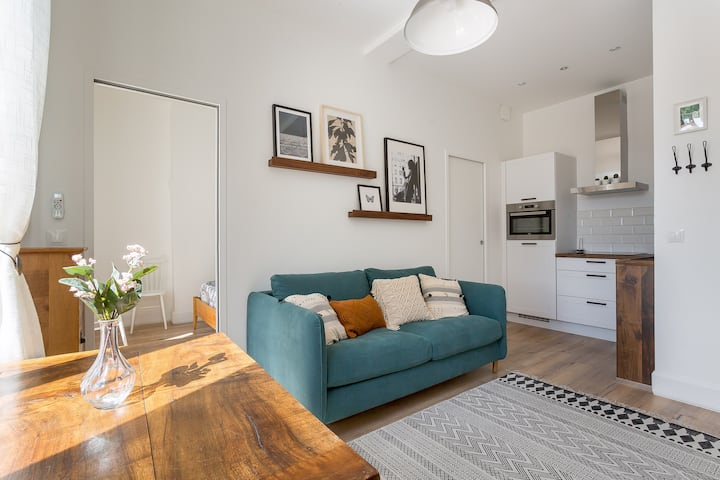 2-room flat nearby Croix Rousse and Tête d'Or Park