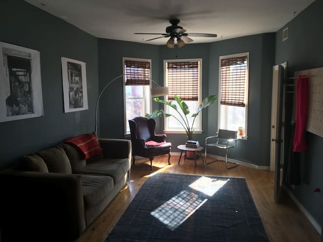 Spacious Apartment in the Heart of Logan Square