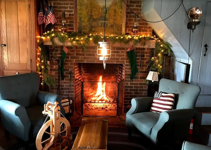 Log Cabin Christmas Experience