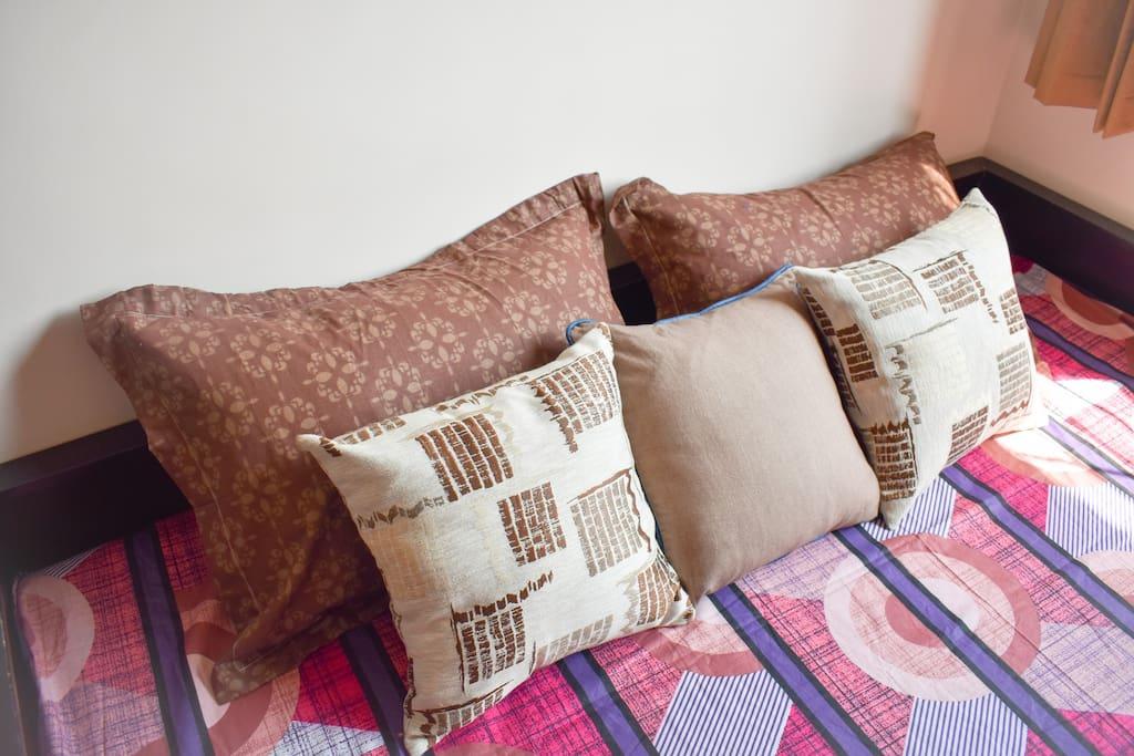 Cushions for your comfortable sleep