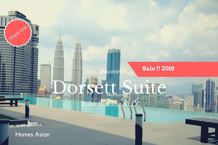 R77 Dorsett Residences Suite Bukit Bintang, KLCC