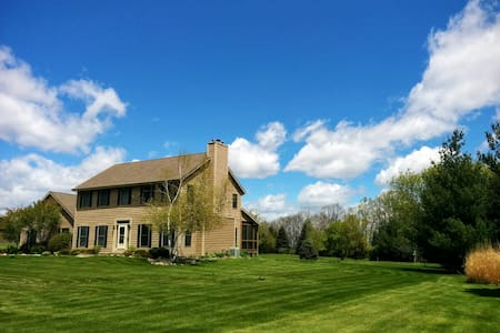 US Open rental close to Erin Hills! - Richfield - Casa