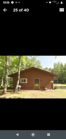 Guest Cabin on Lake Hattie Peaceful Refuge