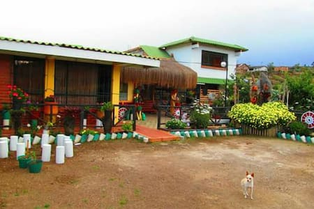 Cabaña campestre Las Margaritas. - Pasto - Blockhütte