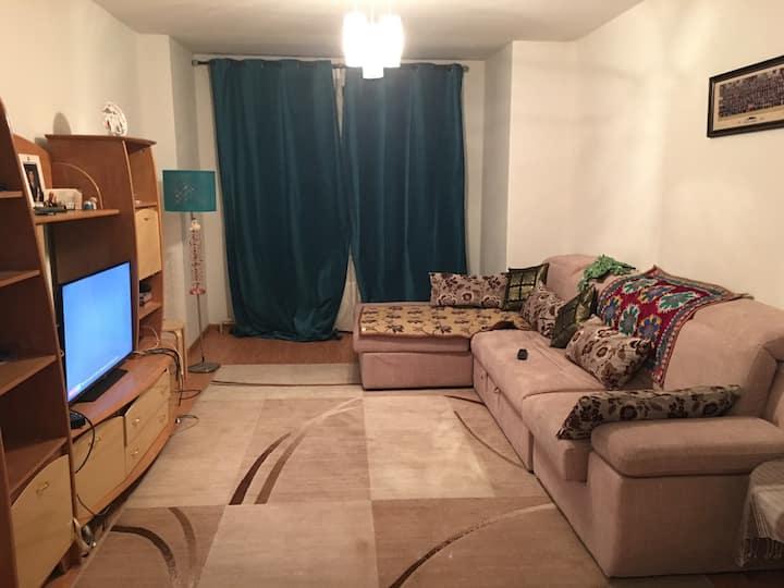 2 bedroom apartment, clean, wifi