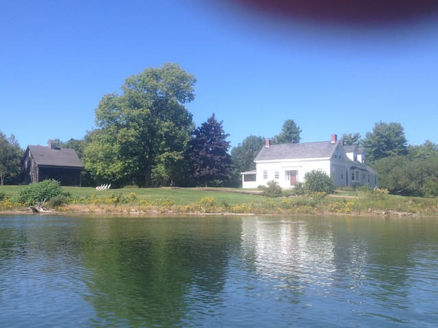 Smith House on Westport Island, a Waterfront home - Wiscasset