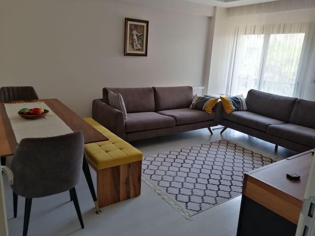 Cozy, modern room in the center of Bostanli