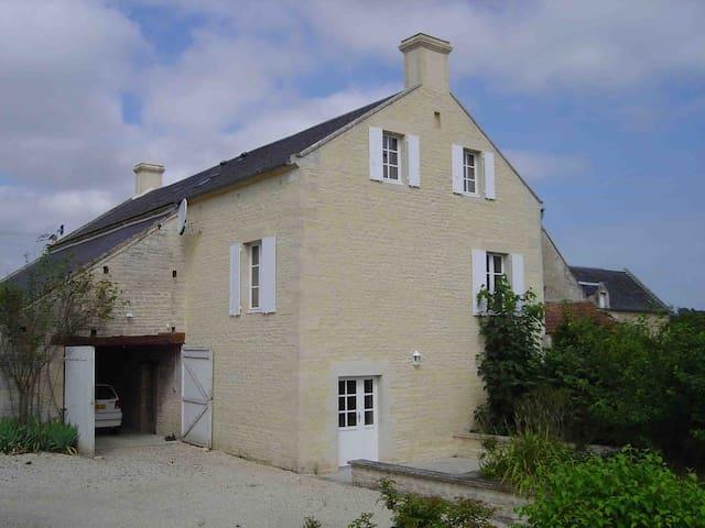 """Gite """"Le Pressoir"""" dans une grange rénovée - Saint-Gabriel-Brécy - Wohnung"""