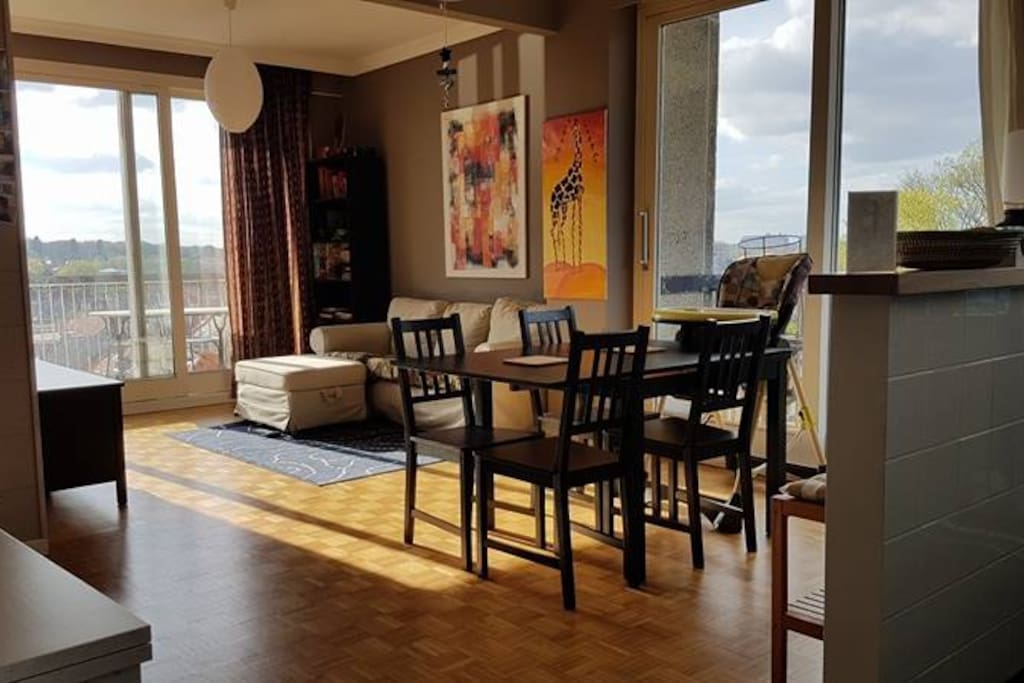 Bel appartement meubl watermael boitsfort - Appartement meuble a louer bruxelles ...