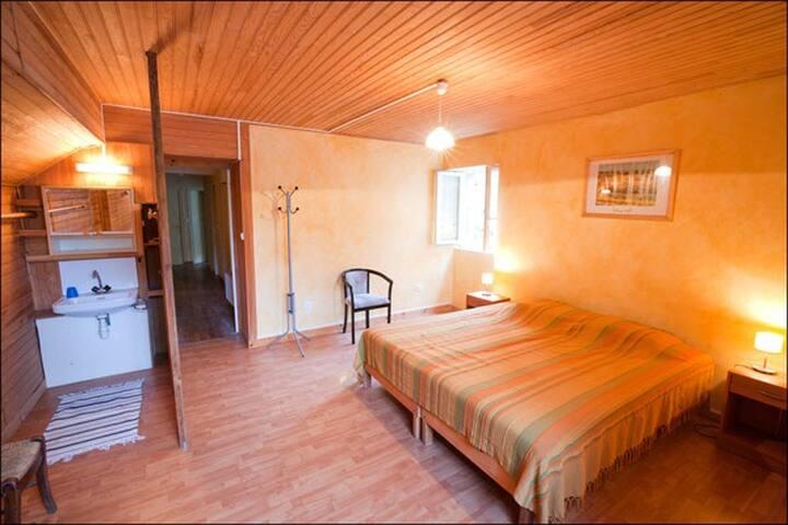 Chambre d'hôte dans gite en Ardèche