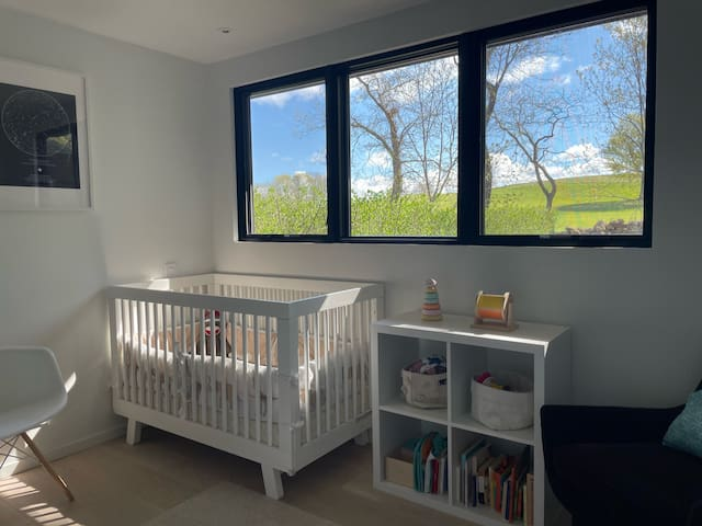 Bedroom 3 - this bedroom can be set up with a twin size bed or a crib