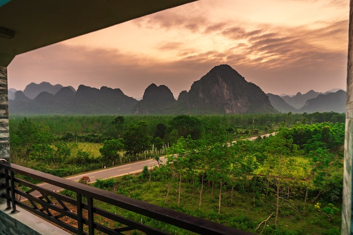Phong Nha Amanda Homestay-Single room with view