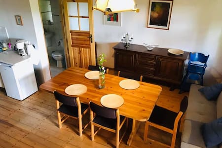 Niezależny apartament w Karwiku z pięknym widokiem