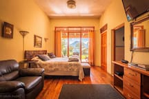 Luxury suite, volcano views, right on the water.  It is waiting for you!!!