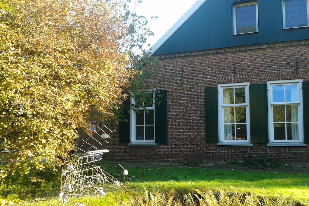 Je eigen appartement en tuin in oude boerderij for Opknap boerderij te koop gelderland