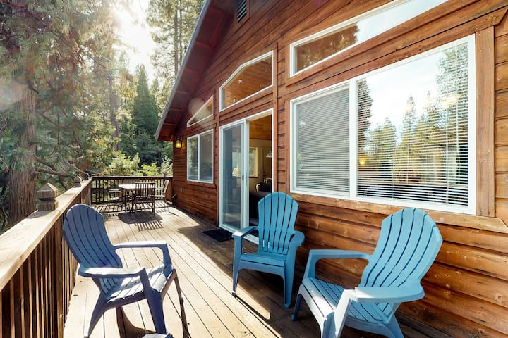 NEW LISTING! Large cabin w/pool table & foosball, shared pool