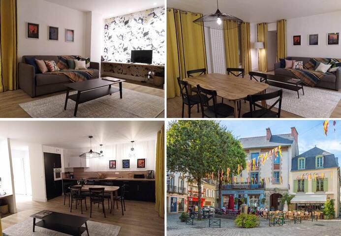 10% PROMO MARS - beau logement centre d'Auray