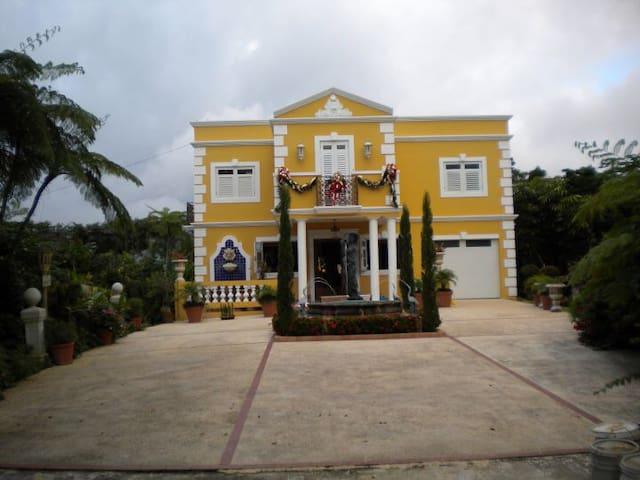 CASA DE CAMPO DE LUJO, BARRANQUITAS, PUERTO RICO.