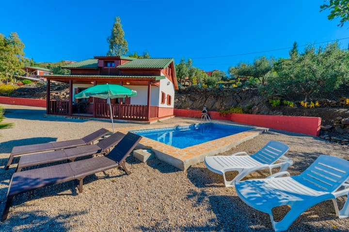 House with Private Pool (Aries)