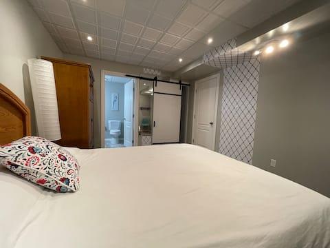 Privatsuite mit 1 Schlafzimmer, Sylvan Lake