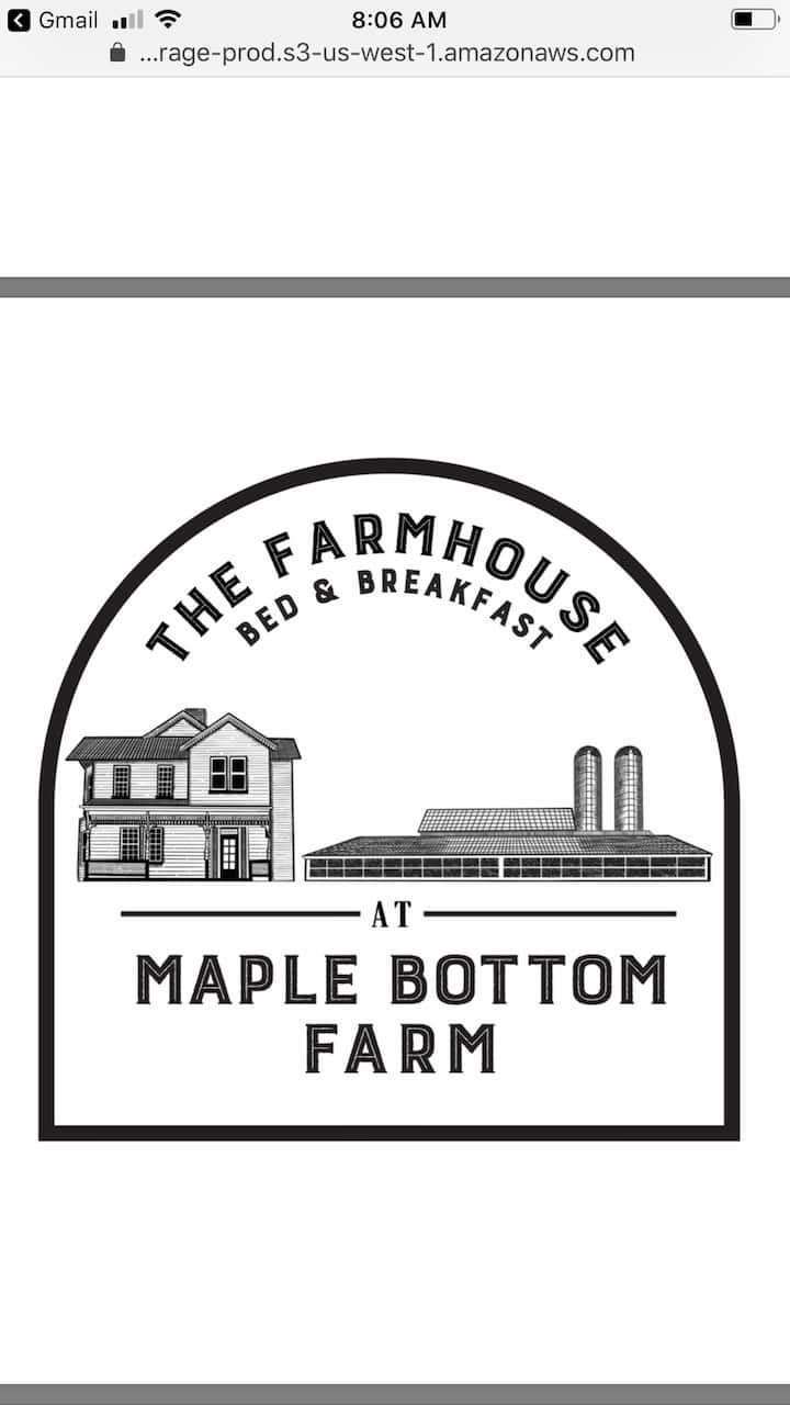 Maple Bottom Farmhouse - AnnaLee room