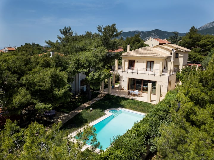 Thrakomakedones Blue Coast Villa