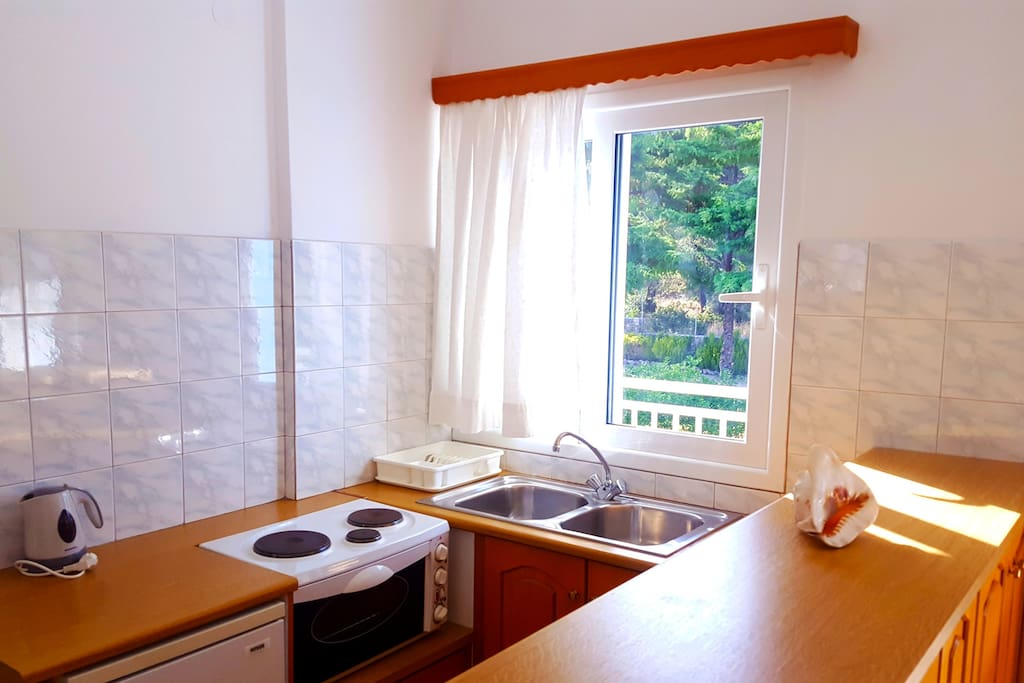 Blue White Hotel Studio Kitchenette (3 persons)