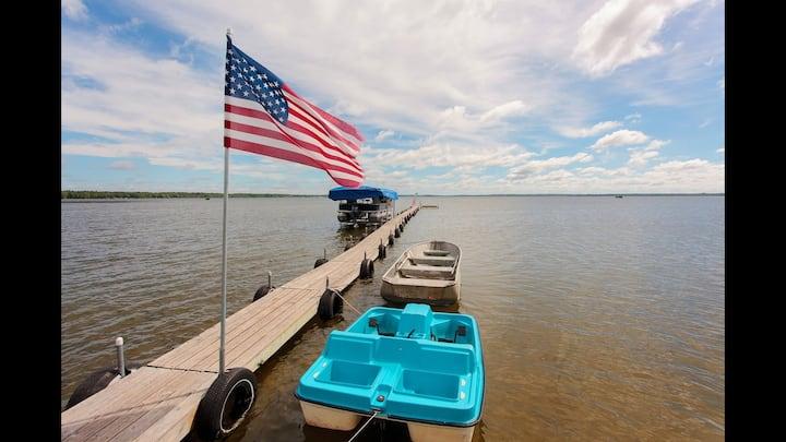 Reel Livin' on North Long Lake #6