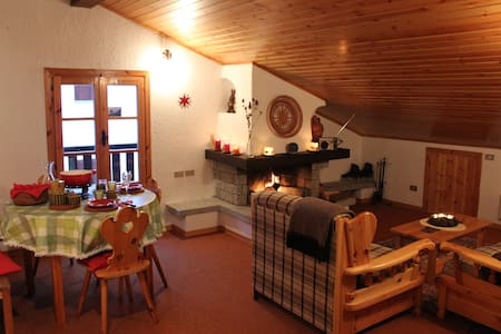 Rustic little penthouse in Campodolcino - Campodolcino