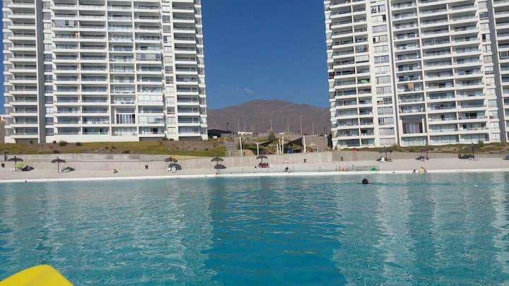 Espectacular departamento 140m2 en Costa Laguna.