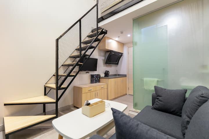 世界之窗唯一loft复式公寓《沙河公寓》