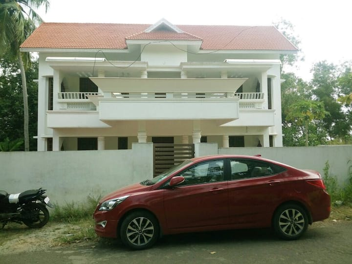 Authentic Kerala bungalow with AC room, DTH TV etc