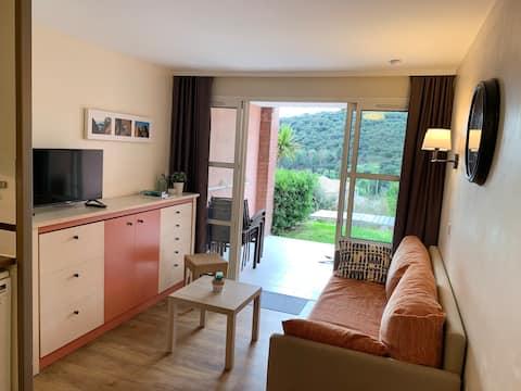 Agay, Cap Esterel, apartment, garden, sea view