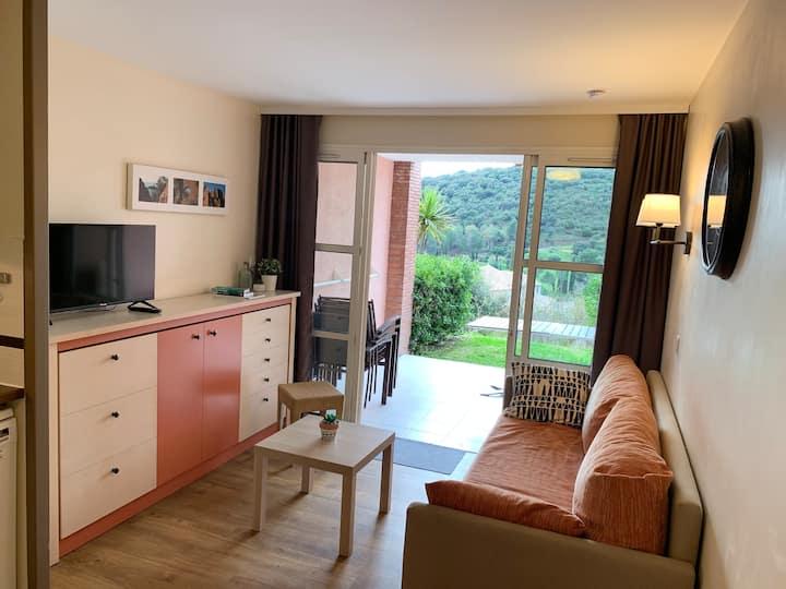 Agay, Cap Esterel, appartement, jardin, vue mer