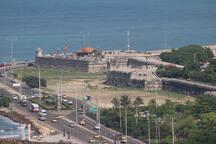 vista Murallas de Cartagena