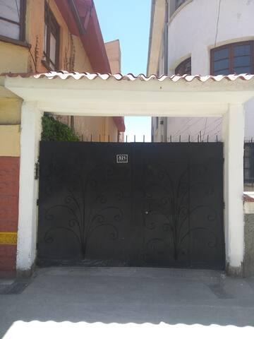 Reja de entrada