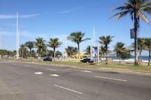 Barra da Tijuca beach (1 min. walking distance)