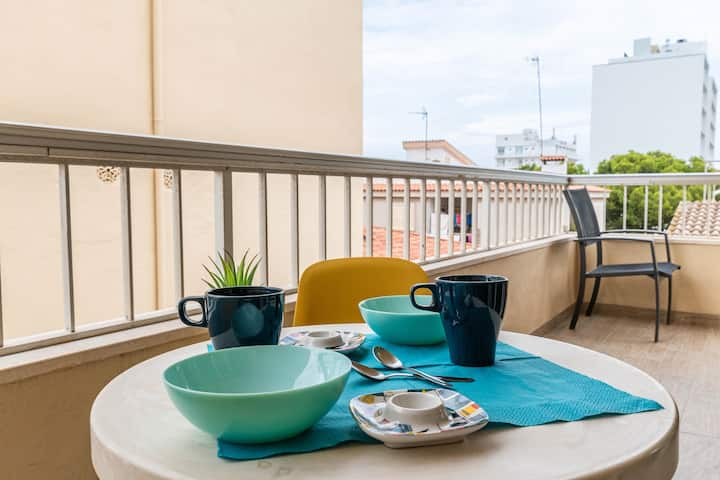 YourHouse Acapulco modern apartment near the beach with 2 bedrooms and balcony CAT D2