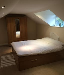 Lovely Attic Double-Room (En-suite)
