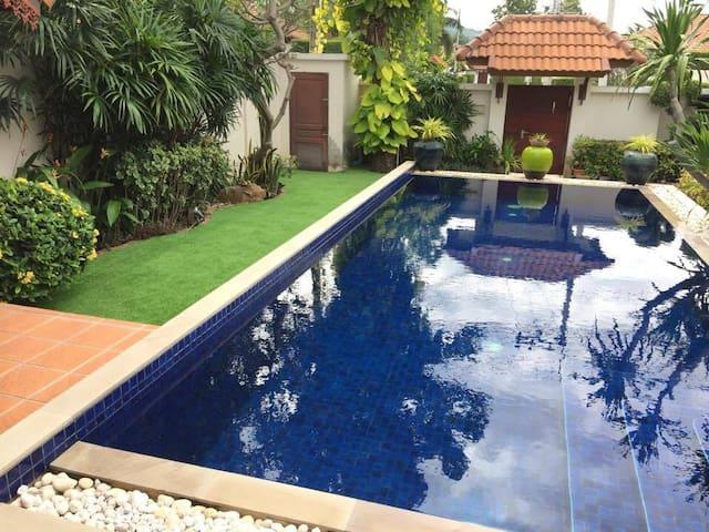 Luxurious Pool Villa in a Tropical Setting - Hua Hin - Talo